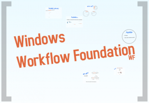 Prezi screenshot - Windows Workflow Foundation