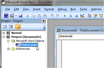 How to clear the Clipboard when exiting Microsoft Word